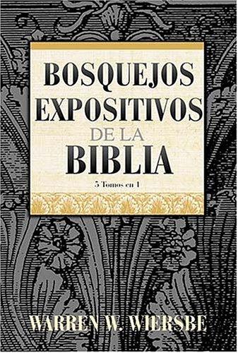 9780899226286: Bosquejos Expositivos De La Biblia 5 Tomos En 1