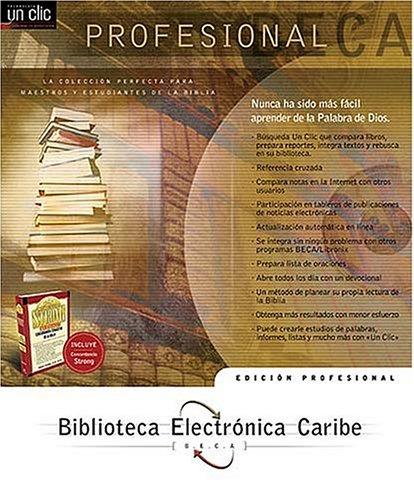 9780899226569: BECA Profesional (Spanish Edition)