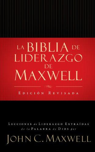 9780899226620: de Liderazgo Con Notas de John C. Maxwell (Leadership Bib Le) = Spanish Leadership Bible