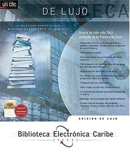 9780899226644: Biblioteca Electronica Caribe Edicion de Lujo
