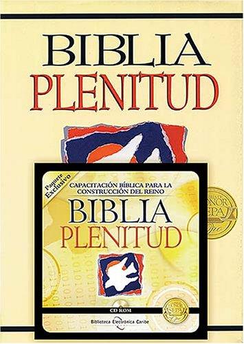 9780899227078: Biblia Plenitud con CD-ROM (Spanish Edition)