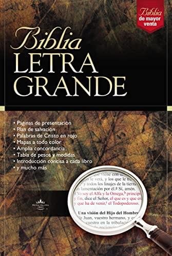 Biblia Letra Grande (Spanish Edition): RVR 1960- Reina Valera 1960