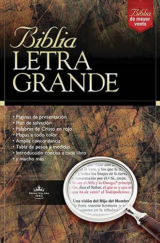 9780899227177: Biblia Letra Grande - Vino (Spanish Edition)