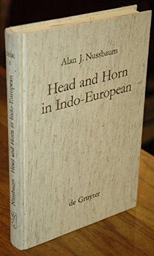 """9780899251325: Head and horn in Indo-European: The words for """"horn,"""" """"head,"""" and """"hornet"""" (Untersuchungen zur indogermanischen Sprach- und Kulturwissenschaft)"""