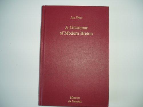 9780899251356: A Grammar of Modern Breton