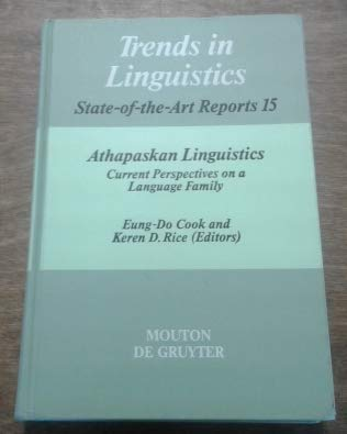 9780899252827: Athapaskan Linguistics: Current Perspectives on a Language Family (Trends in Linguistics)