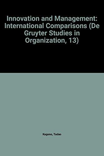 9780899252940: Innovation and Management: International Comparisons (De Gruyter Studies in Organization, 13)