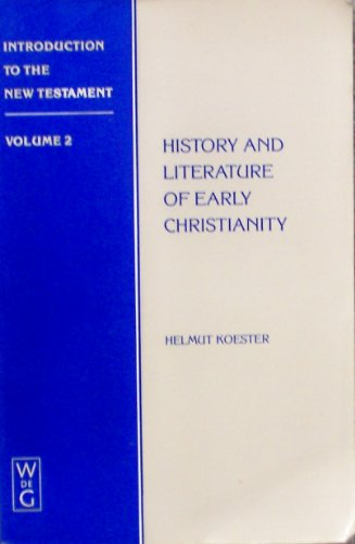 9780899253527: Introduction to the New Testament: History and Literature of Early Christianity: 2