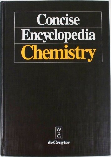 9780899254579: Concise Encyclopedia Chemistry