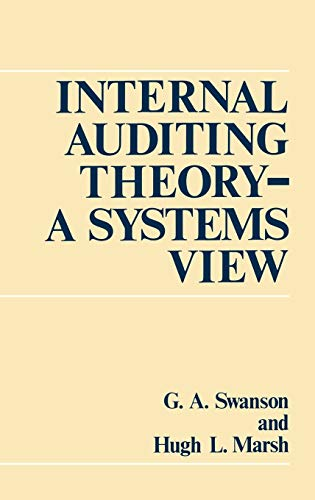9780899306087: Internal Auditing Theory--A Systems View