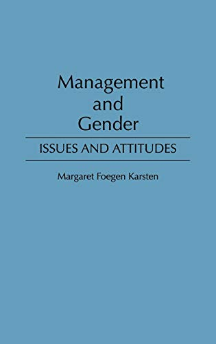 9780899308128: Management and Gender: Issues and Attitudes