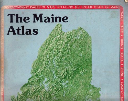 Maine (State Atlas & Gazetteer): Delorme Publishing Company