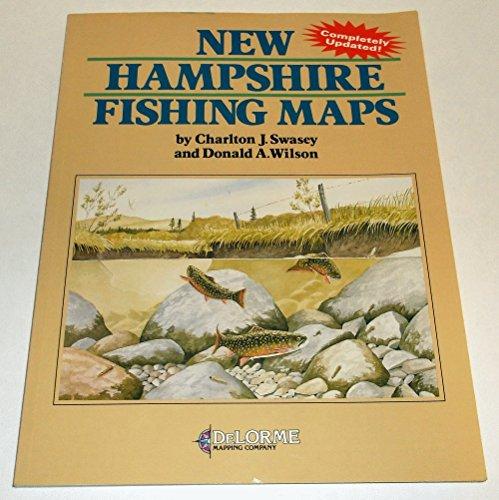 9780899330402: New Hampshire Fishing Maps