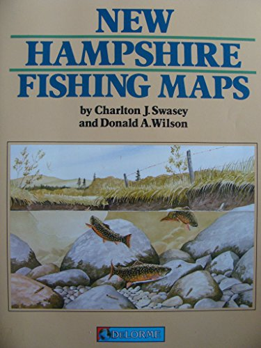 9780899331928: New Hampshire Fishing Map Book