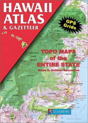 9780899332086: Hawaii Atlas & Gazetteer