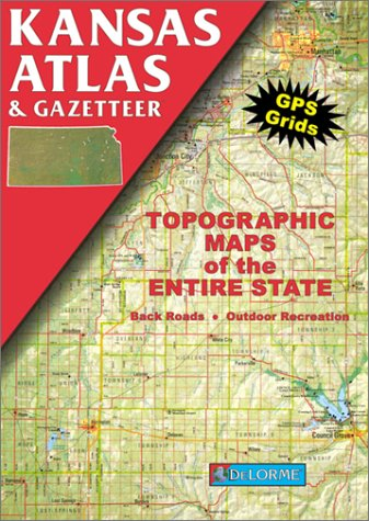 9780899332154: Kansas Atlas & Gazetteer