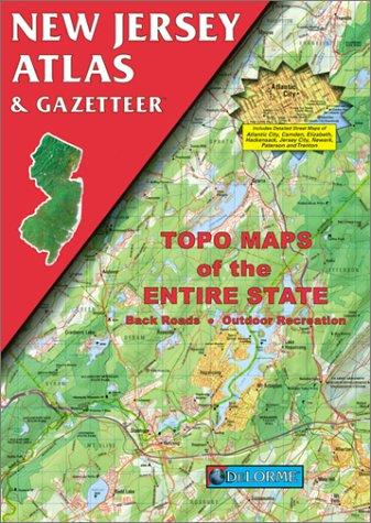 9780899332277: New Jersey Atlas & Gazetteer