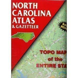 9780899332314: North Carolina Atlas & Gazetteer (State Atlas & Gazetteer)