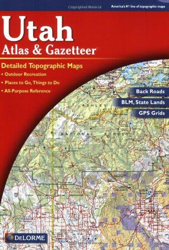 9780899332550: Utah Atlas and Gazetteer