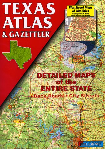 9780899332604: Texas Atlas & Gazetteer