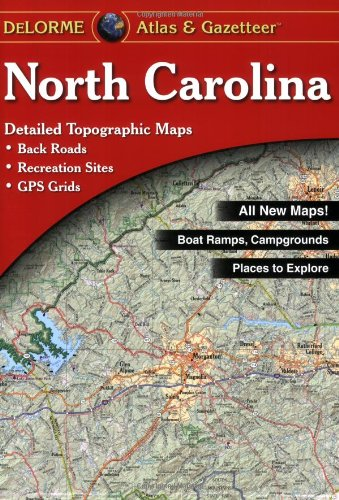 9780899332772: North Carolina (State Maps-USA)