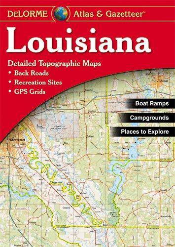 9780899332864: Louisiana Atlas & Gazetteer