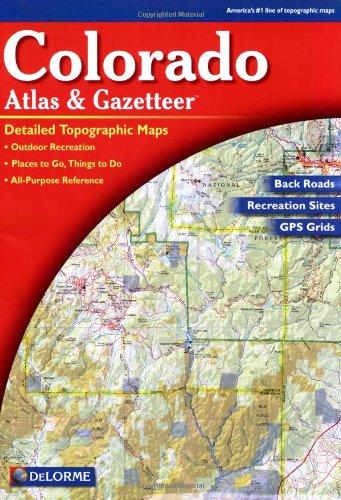 9780899332888: Colorado Atlas & Gazetteer