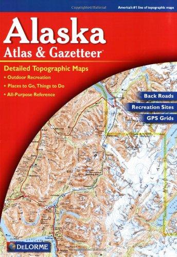 9780899332895: Alaska Atlas & Gazetteer