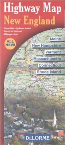 9780899333014: Highway Map New England