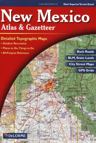 9780899333175: New Mexico Delorme (State gazetteers)