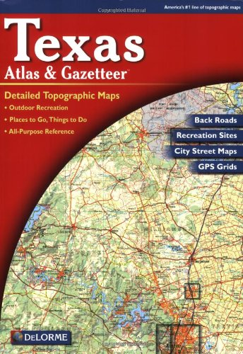 9780899333205: Texas (Texas Atlas & Gazetteer)