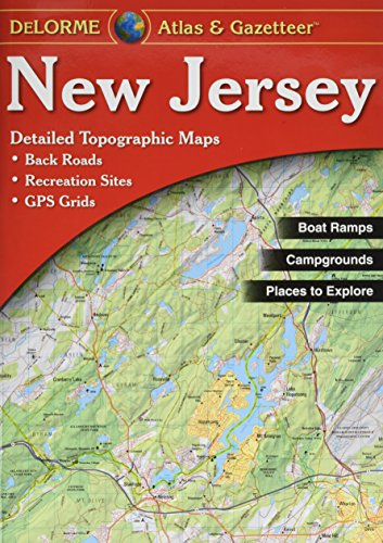 9780899333243: New Jersey Atlas & Gazetteer