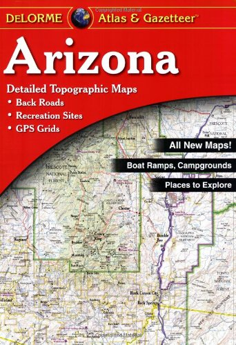 9780899333250: Arizona - Delorme 4th (Arizona Atlas & Gazetteer)