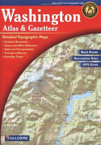 9780899333298: Washington Atlas & Gazetteer