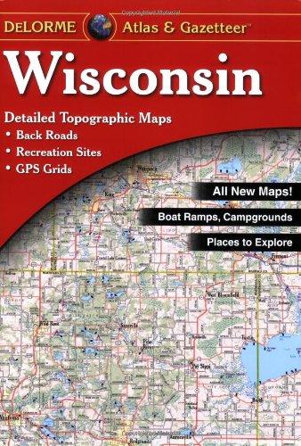 9780899333311: Wisconsin Atlas and Gazetteer