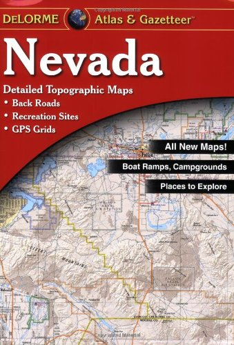 9780899333342: Nevada (Nevada Atlas & Gazetteer)
