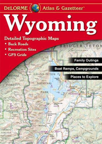 9780899333380: Wyoming Atlas & Gazetteer