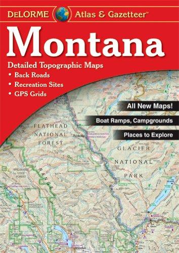 9780899333397: Delorme Montana (Delorme Atlas & Gazetteer)