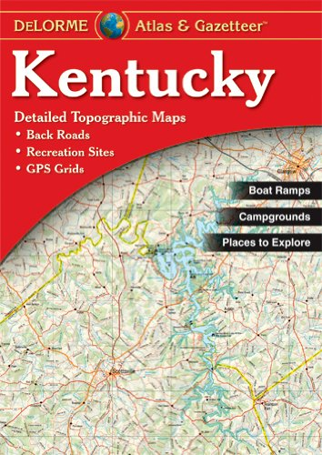 9780899333403: Kentucky - Delorme 2nd (Delorme Atlas & Gazetteer)