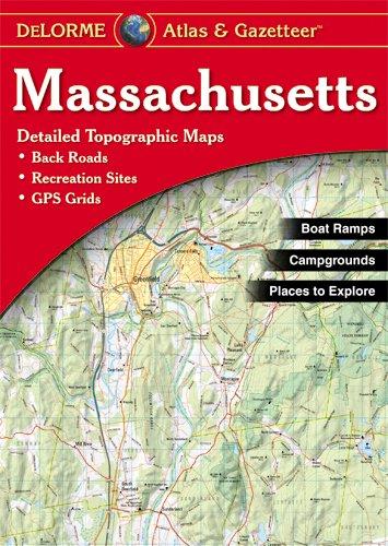 9780899333410: Massachusetts (Delorme Atlas & Gazetteer)