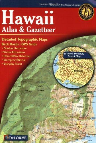 9780899333441: Hawaii Atlas & Gazetteer (Delorme Atlas & Gazetteer)