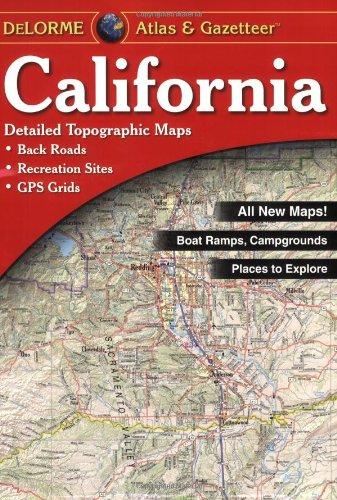9780899333830: California Atlas & Gazetteer (Delorme Atlas & Gazetteer Series)