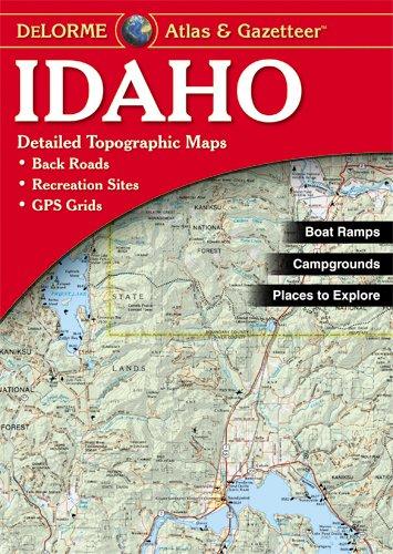 9780899334363: Idaho Atlas and Gazetteer (Delorme Atlas & Gazetteer)