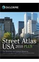 9780899335520: Street Atlas USA 2010 Plus