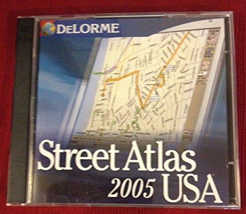 Street Atlas USA 2005: Delorme