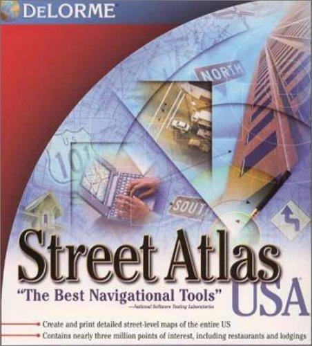 Street Atlast USA 8.0 (0899338836) by Delorme