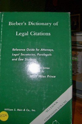 9780899416649 biebers dictionary of legal citations reference top search results from the abebooks marketplace ccuart Choice Image