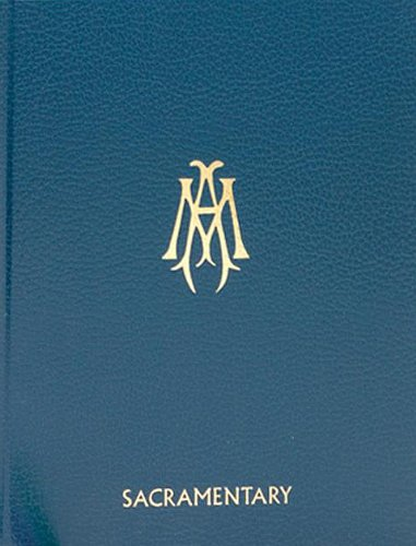 9780899420264: Collection of Masses of the Blessed Virgin Mary: Sacramentary