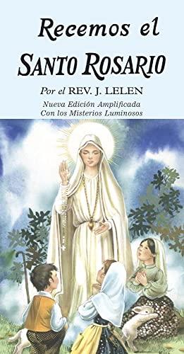 Pray the Rosary/Recemos El Santo Rosario(10 Pack): J. M. Lelen