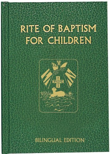 9780899421438: Rite of Baptism for Children (Bilingual Edition) (Roman Ritual) (English and Multilingual Edition)